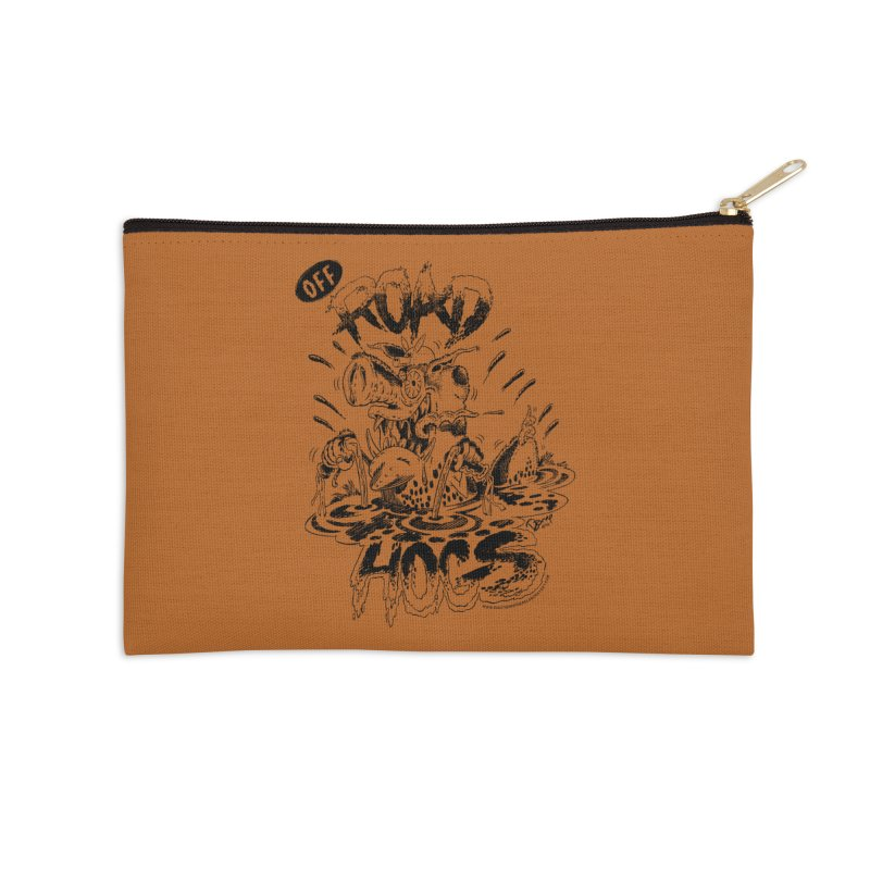 Off-Road Hogs Accessories Zip Pouch by righthemispherelaboratory's Shop
