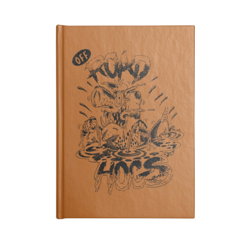 Off-Road Hogs Accessories Notebook by righthemispherelaboratory's Shop