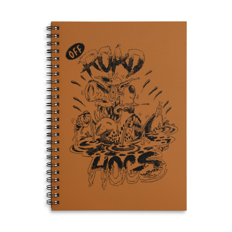 Off-Road Hogs Accessories Lined Spiral Notebook by righthemispherelaboratory's Shop