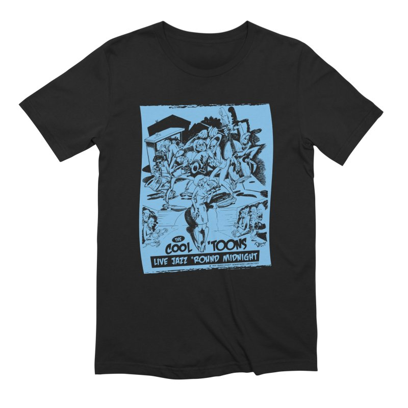 Cool 'Toons Men's T-Shirt by righthemispherelaboratory's Shop