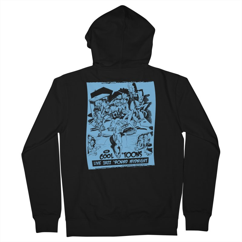 Cool 'Toons Women's Zip-Up Hoody by righthemispherelaboratory's Shop