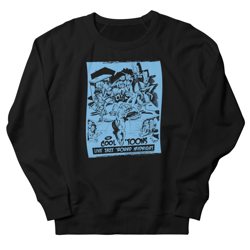Cool 'Toons Men's French Terry Sweatshirt by righthemispherelaboratory's Shop