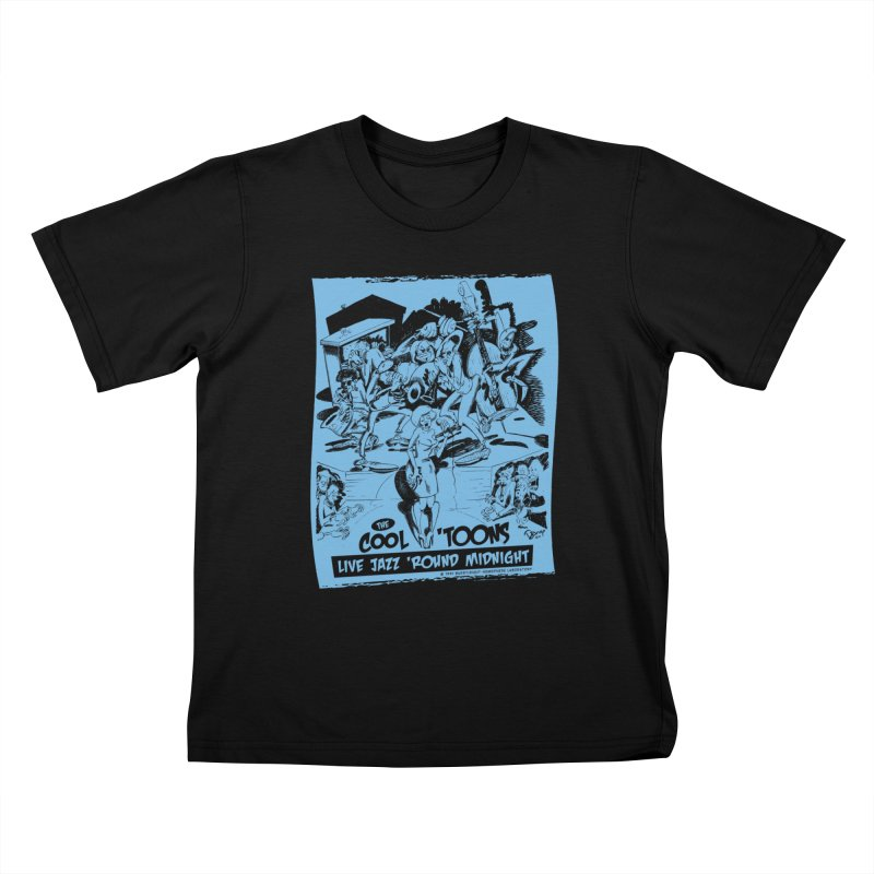 Cool 'Toons Kids T-Shirt by righthemispherelaboratory's Shop