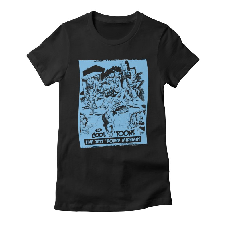 Cool 'Toons Women's T-Shirt by righthemispherelaboratory's Shop
