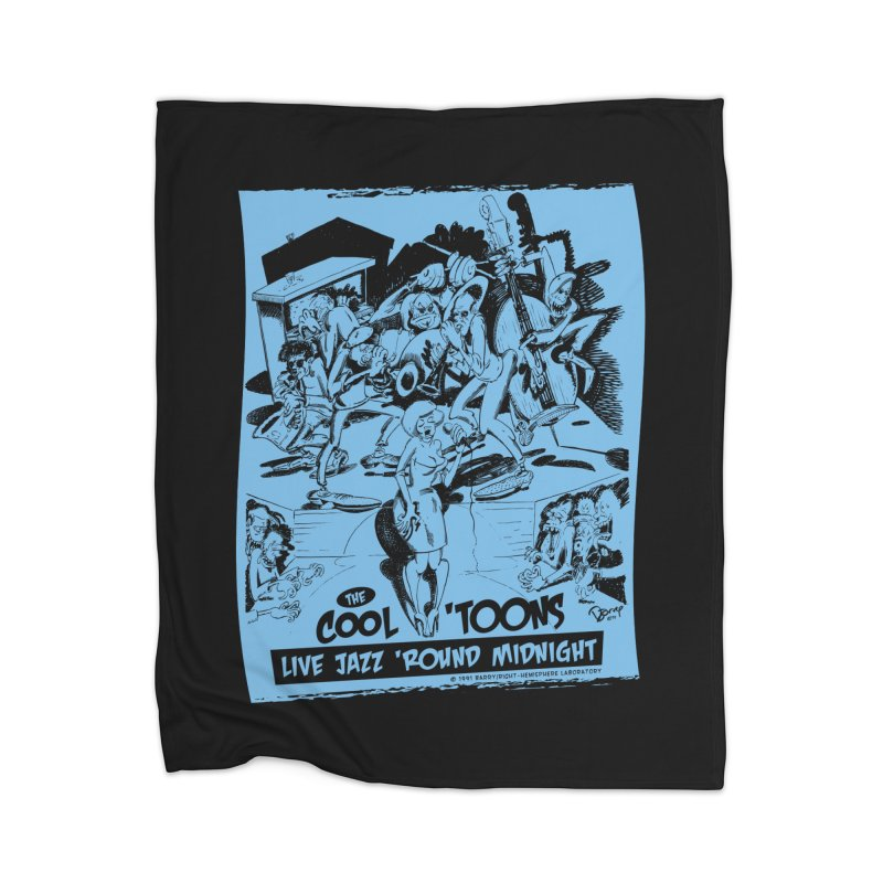 Cool 'Toons Home Blanket by righthemispherelaboratory's Shop