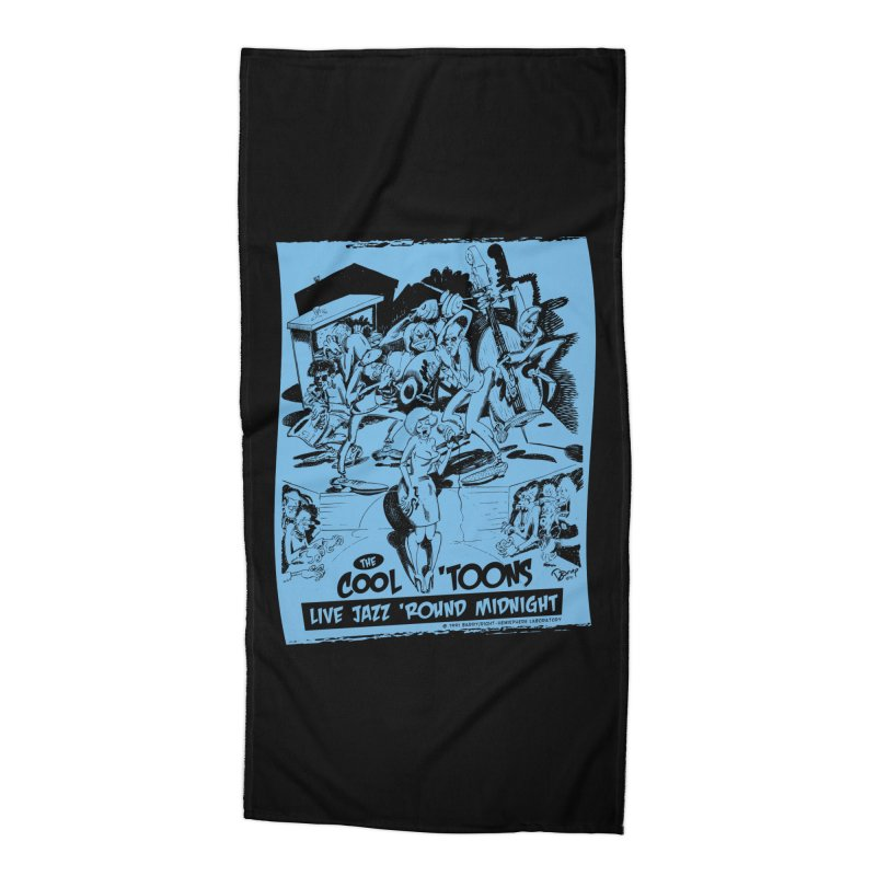 Cool 'Toons Accessories Beach Towel by righthemispherelaboratory's Shop