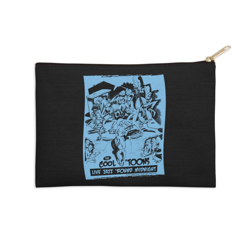 Cool 'Toons Accessories Zip Pouch by righthemispherelaboratory's Shop