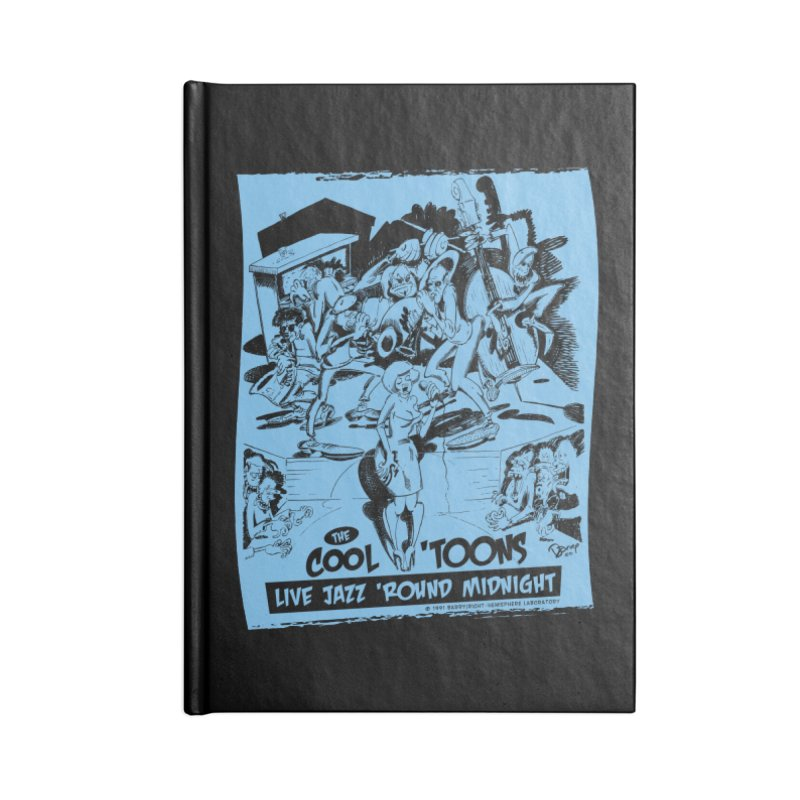 Cool 'Toons Accessories Lined Journal Notebook by righthemispherelaboratory's Shop