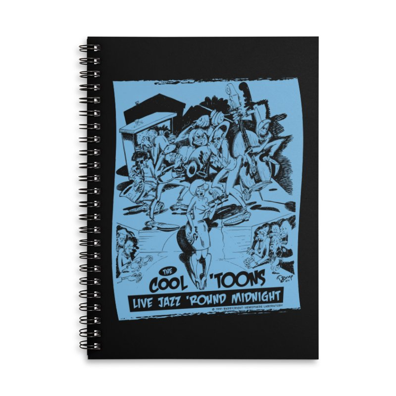 Cool 'Toons Accessories Lined Spiral Notebook by righthemispherelaboratory's Shop