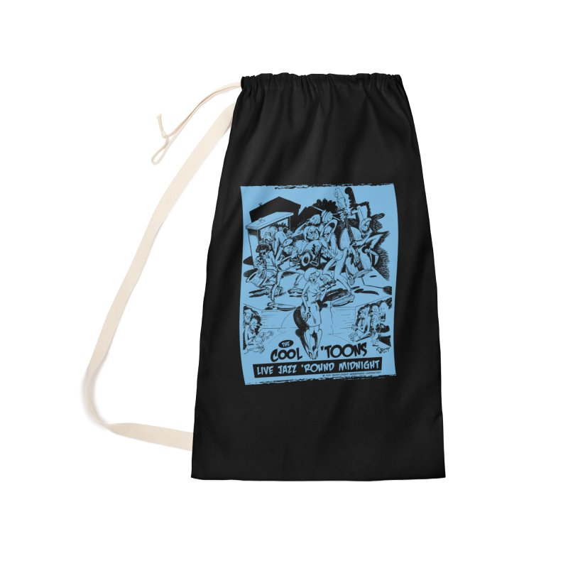Cool 'Toons Accessories Laundry Bag Bag by righthemispherelaboratory's Shop