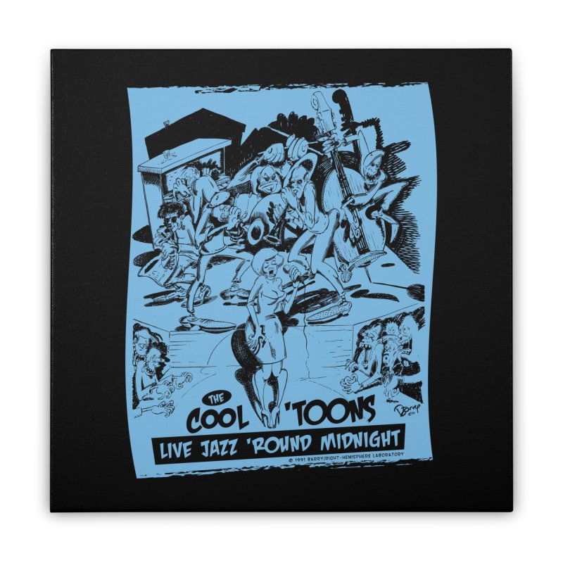 Cool 'Toons Home Stretched Canvas by righthemispherelaboratory's Shop