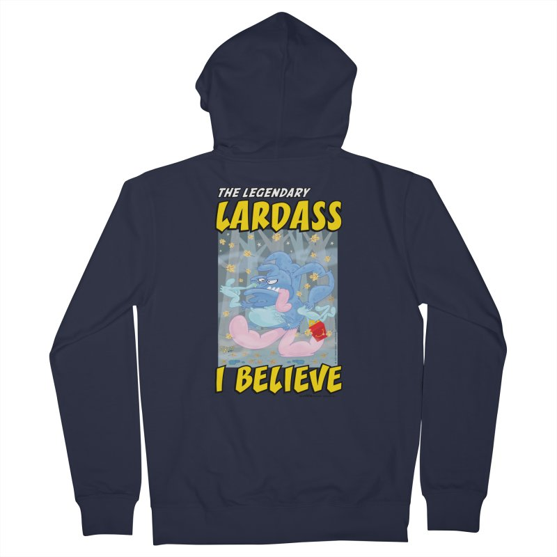 The Legendary Lardass Women's French Terry Zip-Up Hoody by righthemispherelaboratory's Shop