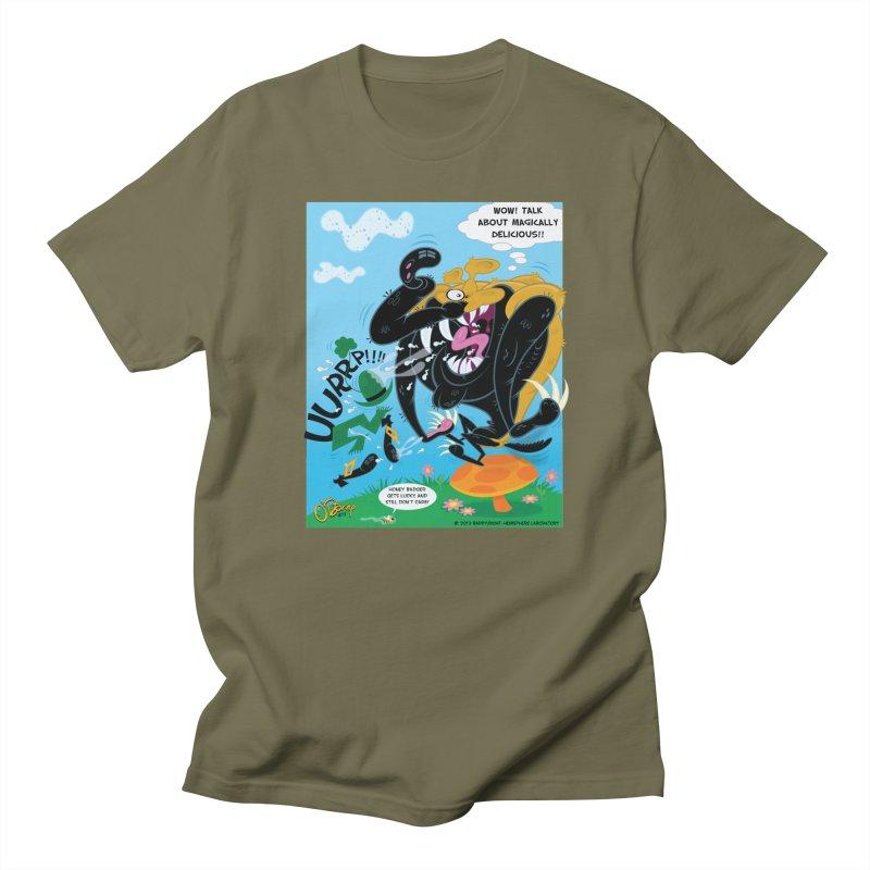 Honey Badger Gets Lucky Women's Regular Unisex T-Shirt by righthemispherelaboratory's Shop