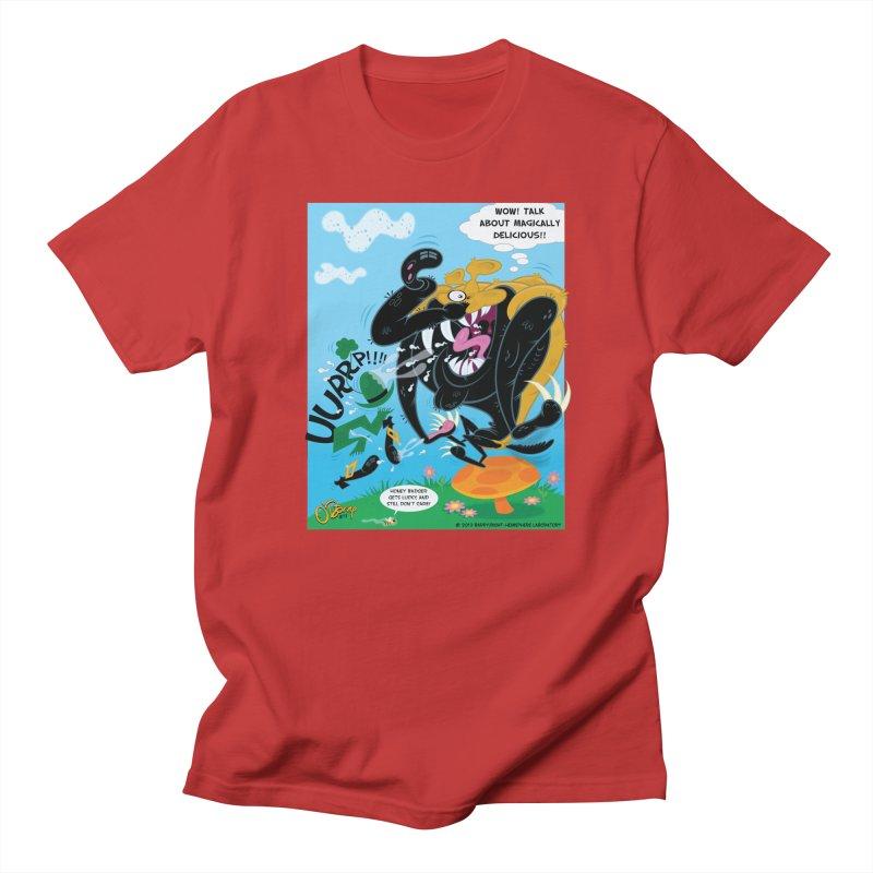 Honey Badger Gets Lucky Men's T-Shirt by righthemispherelaboratory's Shop