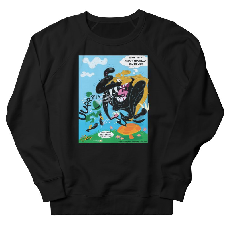 Honey Badger Gets Lucky Women's Sweatshirt by righthemispherelaboratory's Shop