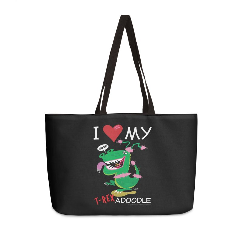 T-Rexadoodle Accessories Bag by righthemispherelaboratory's Shop