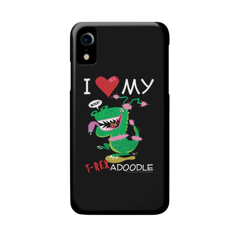 T-Rexadoodle Accessories Phone Case by righthemispherelaboratory's Shop