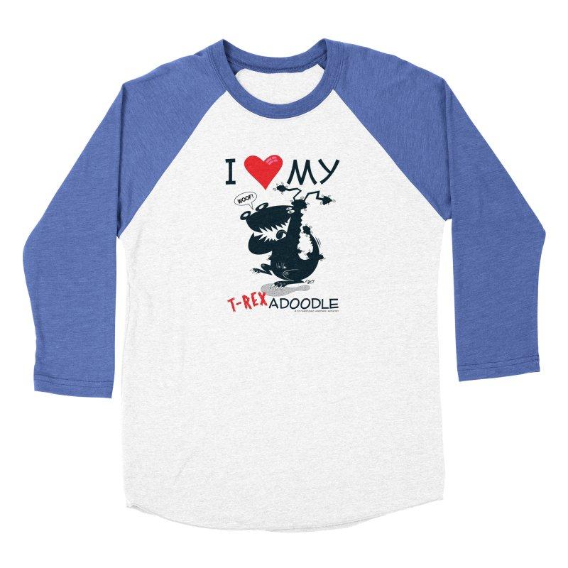 T-Rexadoodle Silhouette Women's Longsleeve T-Shirt by righthemispherelaboratory's Shop