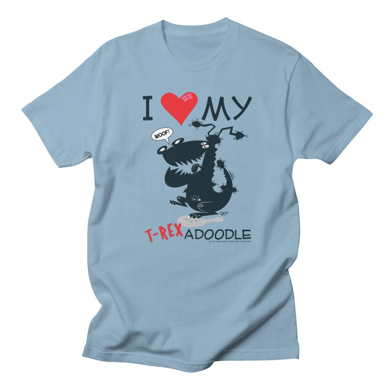 T-Rexadoodle Silhouette Women's T-Shirt by righthemispherelaboratory's Shop