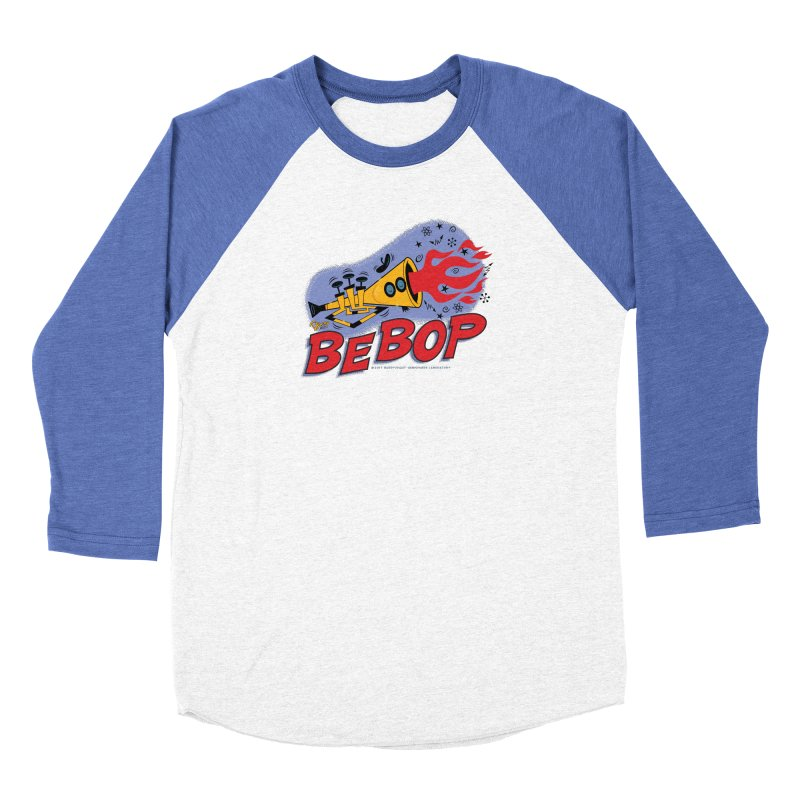 Bebop Trumpet Men's Baseball Triblend Longsleeve T-Shirt by righthemispherelaboratory's Shop