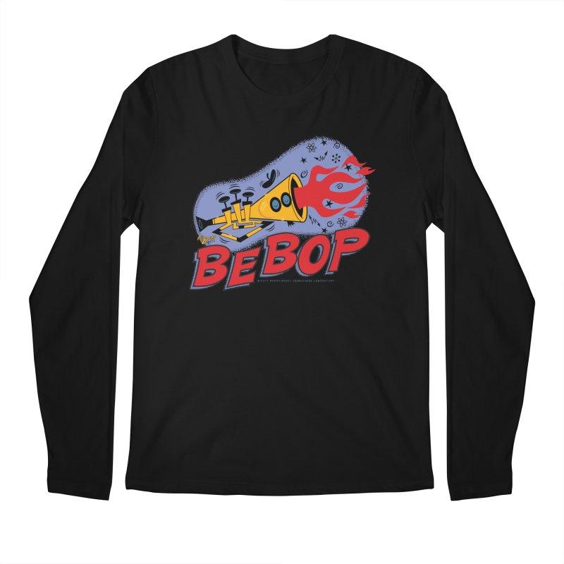 Bebop Trumpet Men's Regular Longsleeve T-Shirt by righthemispherelaboratory's Shop