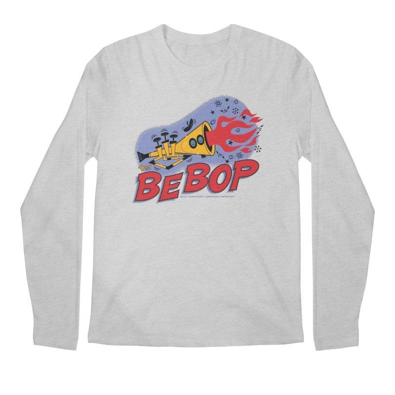 Bebop Trumpet Men's Longsleeve T-Shirt by righthemispherelaboratory's Shop
