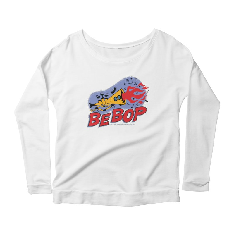 Bebop Trumpet Women's Longsleeve T-Shirt by righthemispherelaboratory's Shop