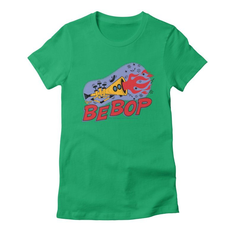 Bebop Trumpet Women's T-Shirt by righthemispherelaboratory's Shop
