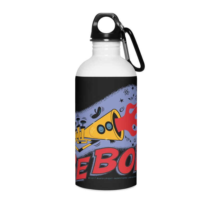 Bebop Trumpet Accessories Water Bottle by righthemispherelaboratory's Shop