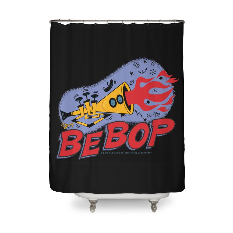 Bebop Trumpet Home Shower Curtain by righthemispherelaboratory's Shop