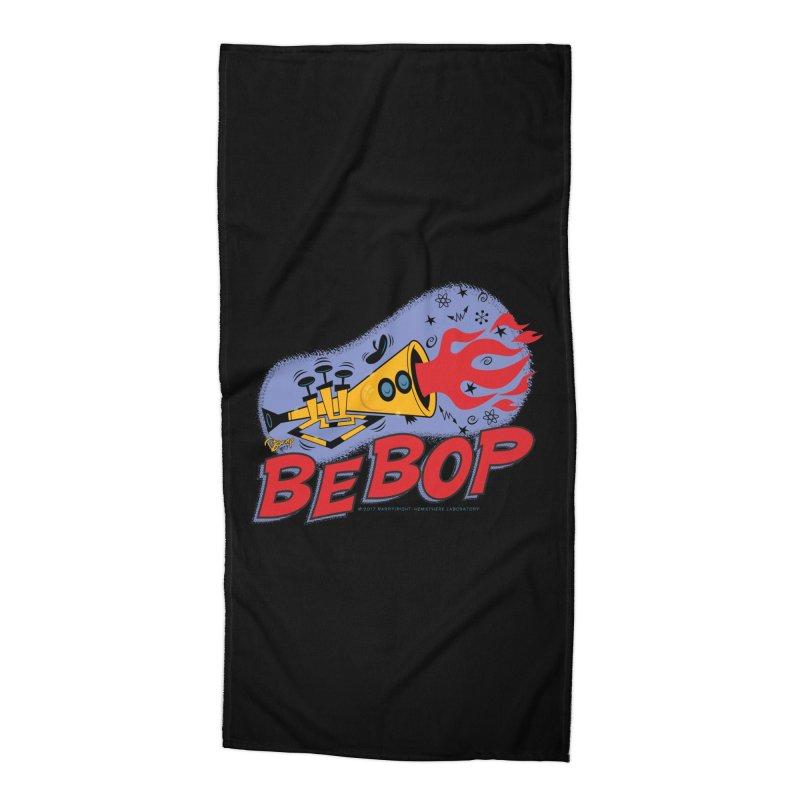 Bebop Trumpet Accessories Beach Towel by righthemispherelaboratory's Shop