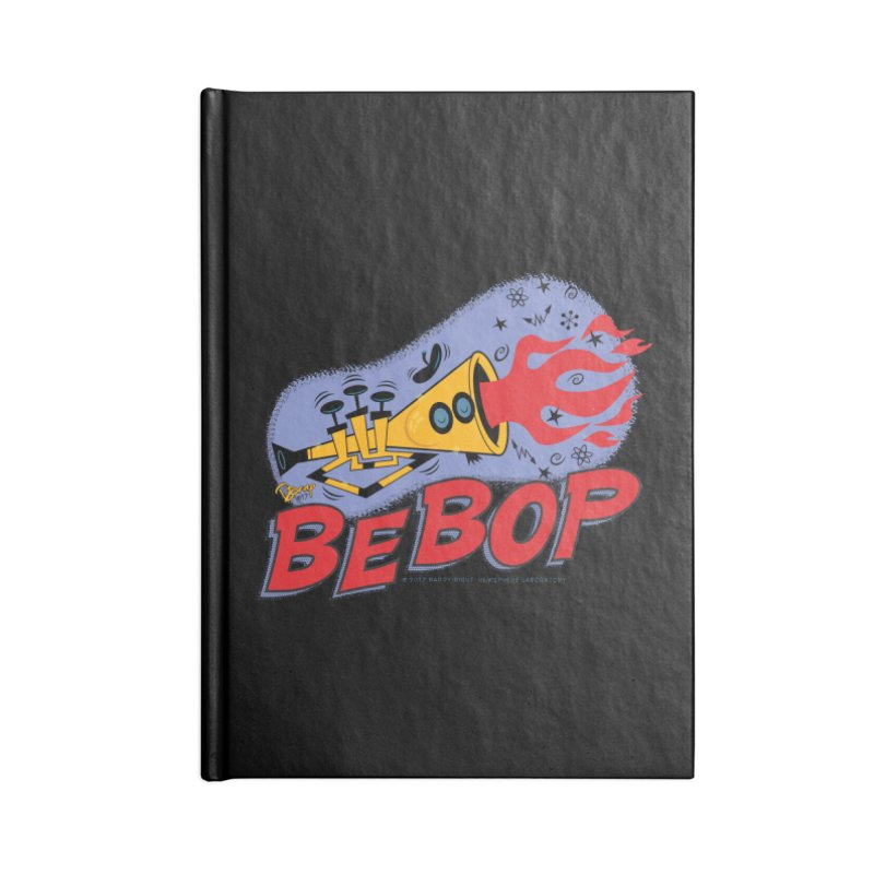 Bebop Trumpet Accessories Notebook by righthemispherelaboratory's Shop