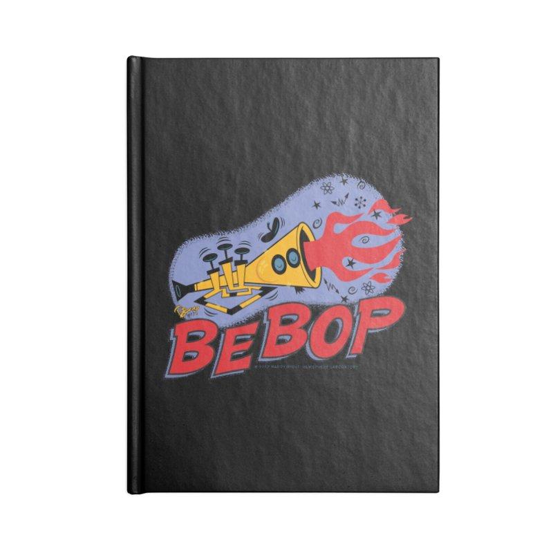 Bebop Trumpet Accessories Notebook by righthemispherelaboratory's Shop