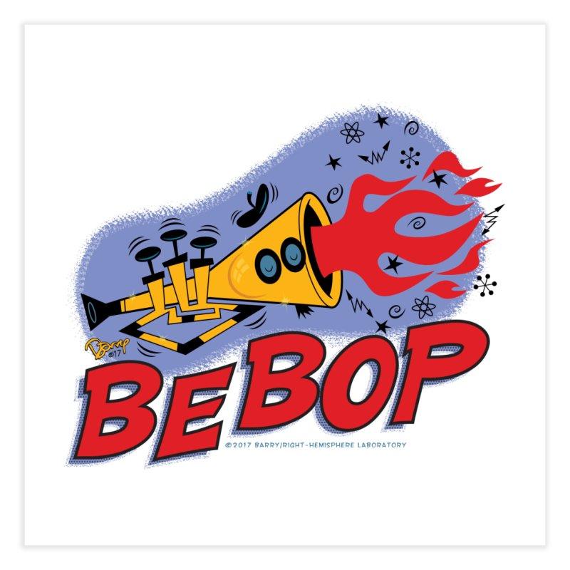 Bebop Trumpet Home Fine Art Print by righthemispherelaboratory's Shop