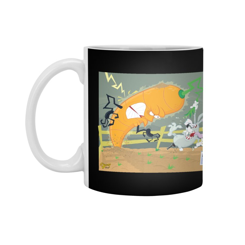 Bad Luck Bunny Accessories Mug by righthemispherelaboratory's Shop