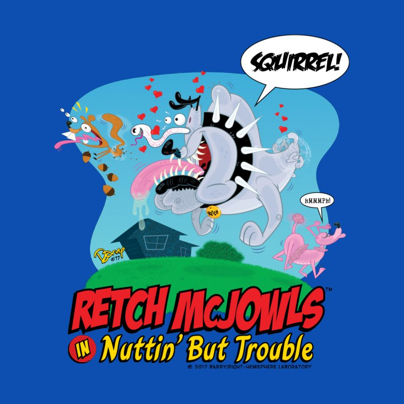 Retch McJowls Home Blanket by righthemispherelaboratory's Shop