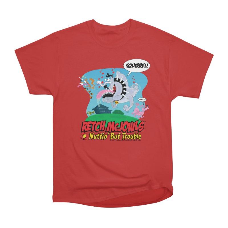 Retch McJowls Men's Heavyweight T-Shirt by righthemispherelaboratory's Shop
