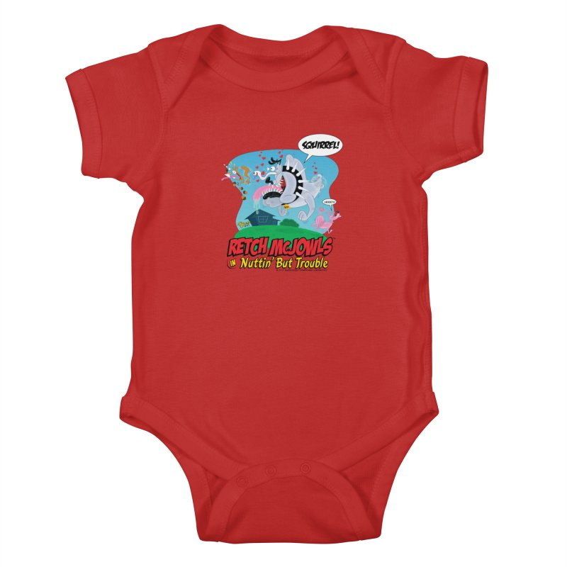 Retch McJowls Kids Baby Bodysuit by righthemispherelaboratory's Shop