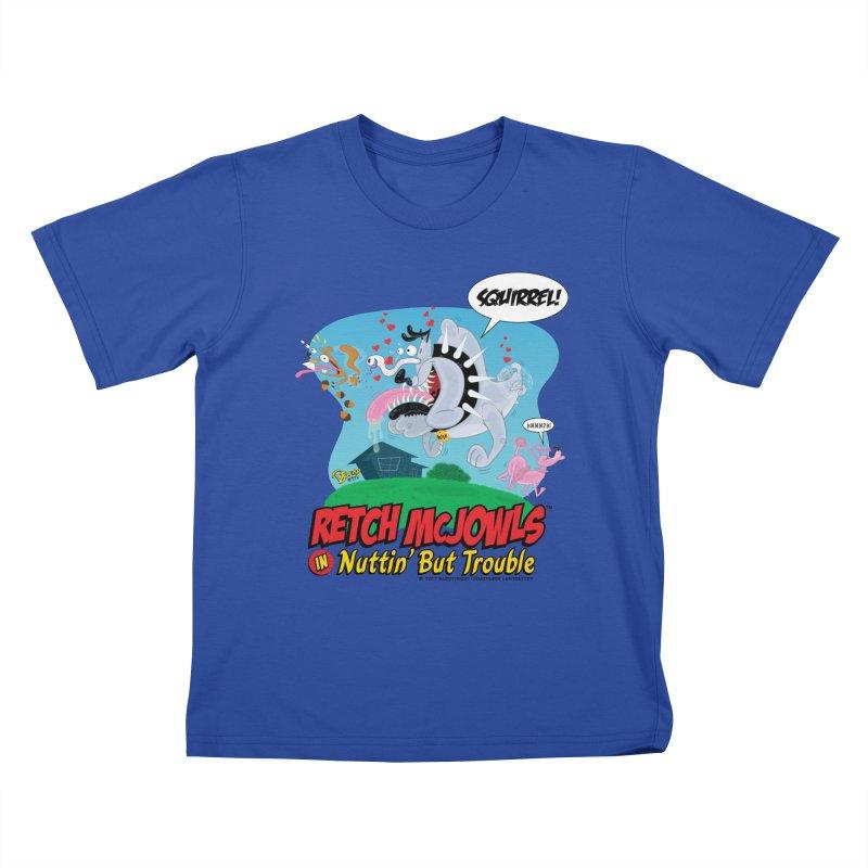 Retch McJowls Kids T-Shirt by righthemispherelaboratory's Shop
