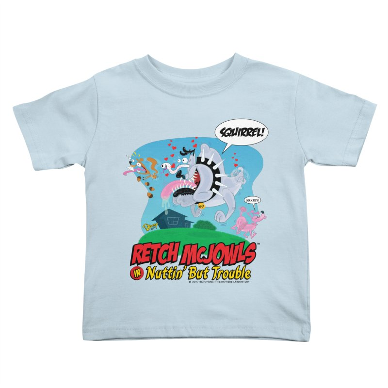 Retch McJowls Kids Toddler T-Shirt by righthemispherelaboratory's Shop