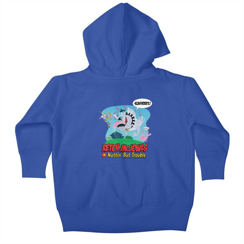 Retch McJowls Kids Baby Zip-Up Hoody by righthemispherelaboratory's Shop