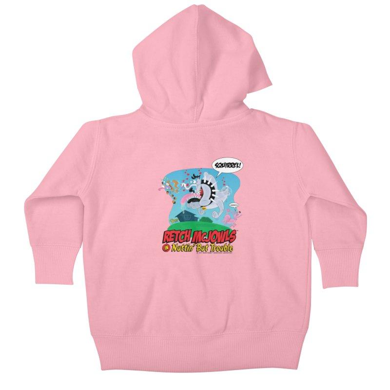 Retch McJowls Kids Baby Zip-Up Hoody by righthemispherelaboratory's Shop