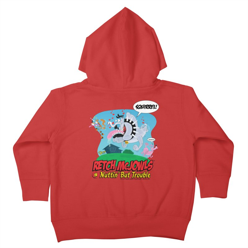 Retch McJowls Kids Toddler Zip-Up Hoody by righthemispherelaboratory's Shop