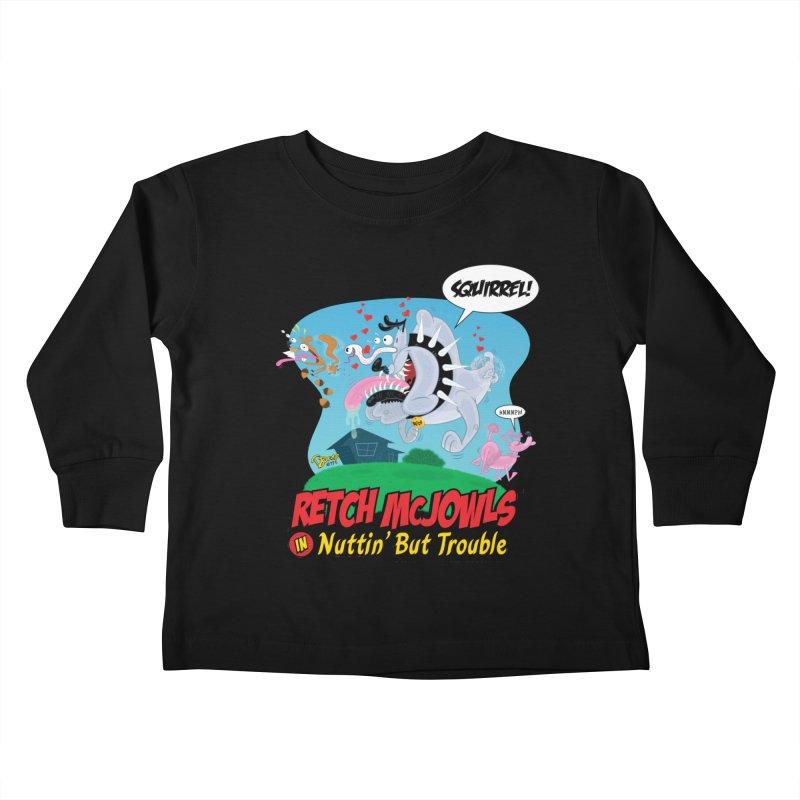 Retch McJowls Kids Toddler Longsleeve T-Shirt by righthemispherelaboratory's Shop