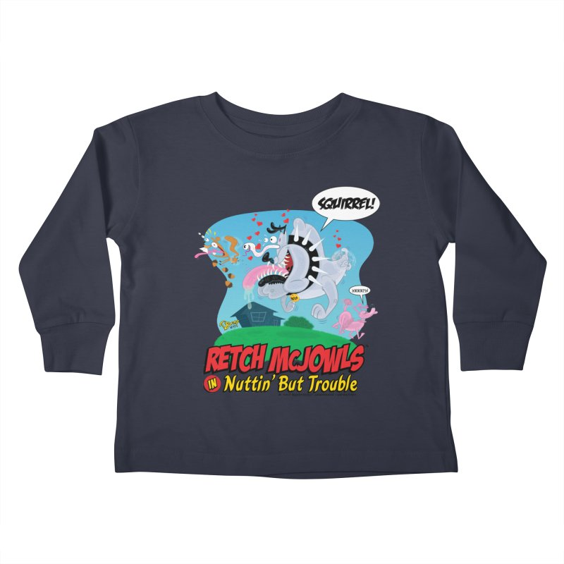 Retch McJowls Kids Toddler Longsleeve T-Shirt by righthemispherelaboratory's Shop