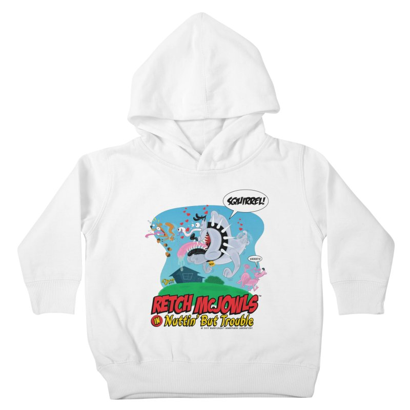 Retch McJowls Kids Toddler Pullover Hoody by righthemispherelaboratory's Shop