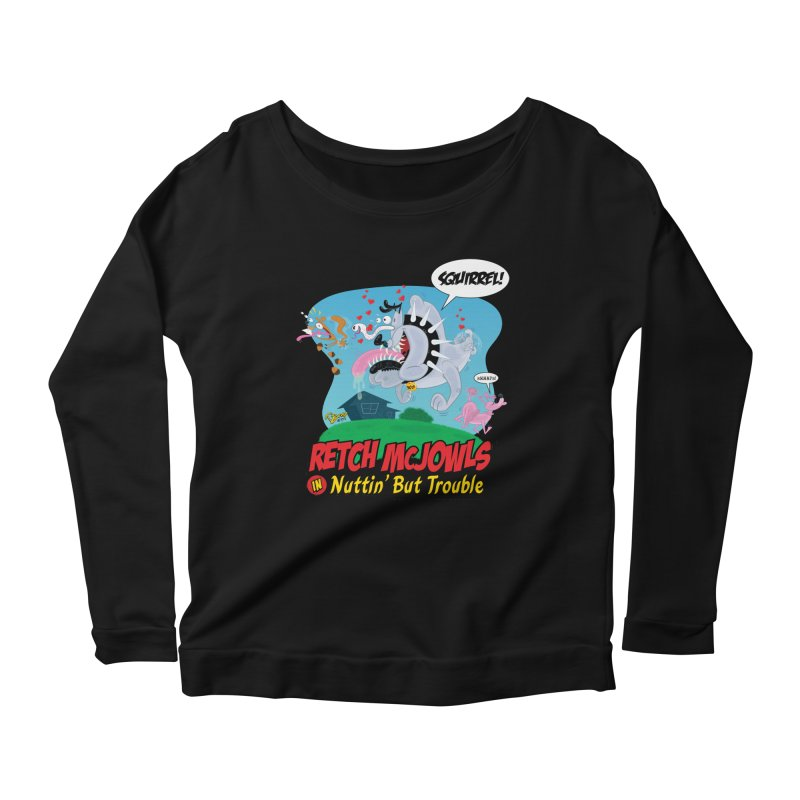 Retch McJowls Women's Scoop Neck Longsleeve T-Shirt by righthemispherelaboratory's Shop
