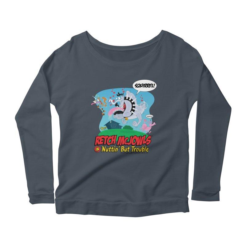 Retch McJowls Women's Longsleeve T-Shirt by righthemispherelaboratory's Shop