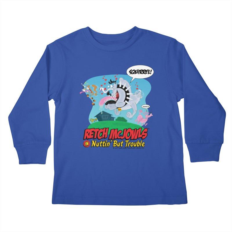 Retch McJowls Kids Longsleeve T-Shirt by righthemispherelaboratory's Shop