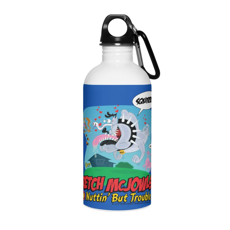 Retch McJowls Accessories Water Bottle by righthemispherelaboratory's Shop